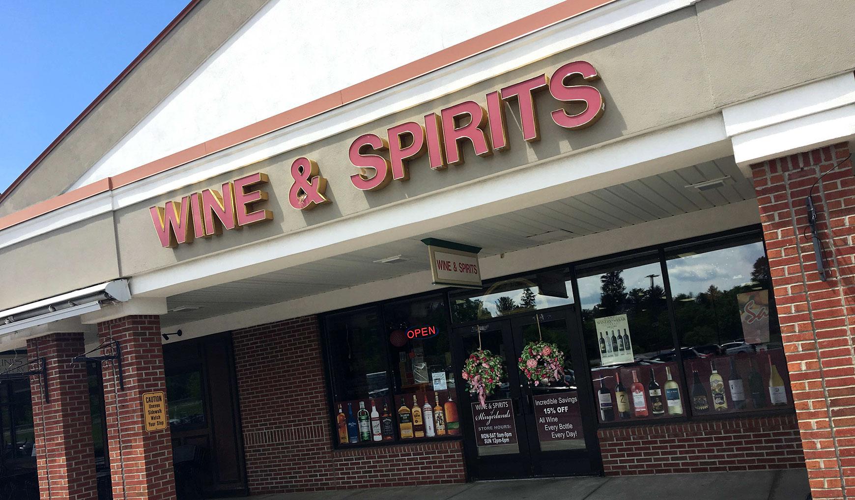 Wine Spirits Of Slingerlands Home Liquor Store Bethlehem Delmar Albany